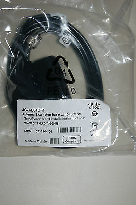 Cisco 4G-AE010-R-R Antenna Extension Base 10-ft cable