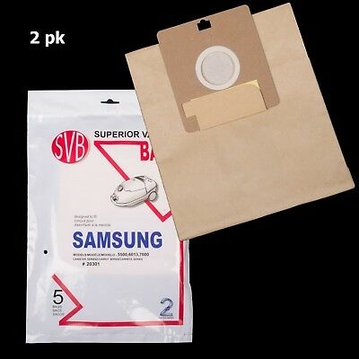 SAMSUNG Bags for Vacuum Cleaner MODEL SC4010, SC4120, SC4127, 5500, 6013, 7700