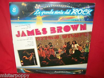 JAMES BROWN Promo only LP 1973 ITALY Gatefold Cover MINT-