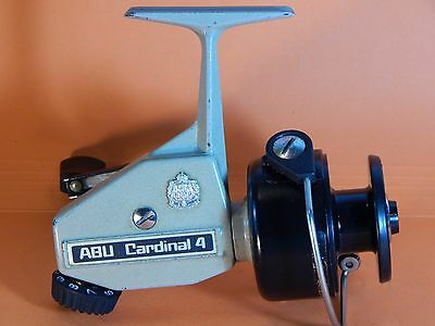 Collectible Vintage '78 ABU Cardinal 4(2nd version)spinning reel-used/excellent
