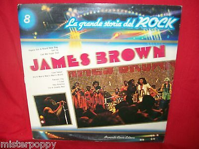 JAMES BROWN Promo only LP 1973 ITALY Gatefold Cover MINT SEALED + Booklet