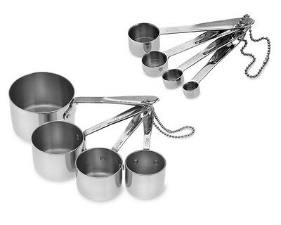 All-Clad Stainless-Steel Measuring Cups & Spoons Spice Coffee Liquid Sauce Sugar
