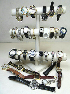 Mens Womens Jewelry Watch Lot w. Pulsar Lorus Mickey Mouse Citizen AS IS