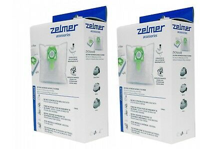 ZELMER 8 genuine HEPA bags + 2 filters for Vc1500, Vc2500 models