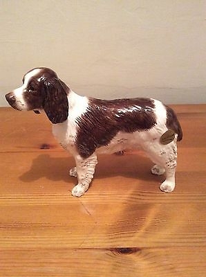 Beswick English Springer Spaniel liver and white