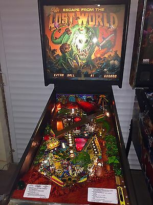 Rare Bally 1988 Escape From The Lost World Pinball Machine (1500 Ever Made)