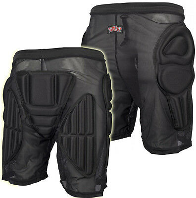 Padded Shorts Hip & Coccyx Protection Bum Pads - Snowboard / Derby Large