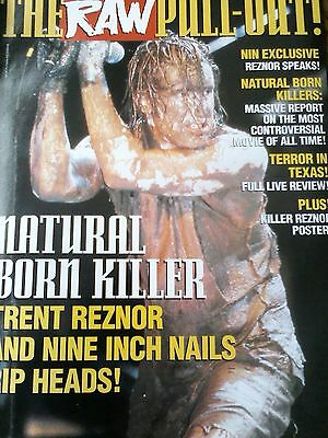 Trent Reznor NIN 12 Page Pull Out 1994 Posters to Frame Killers Soundtrack