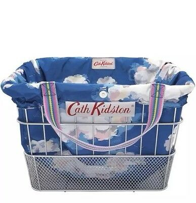 Genuine CATH KIDSTON Clouds Basket Bike Bicycle Liner NEW with Tags