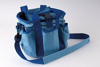 Rhinegold Grooming Bag Only Blue For Brush Set Comb,hoof Pick Worldwide Ship