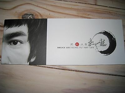 Bruce Lee : Kung Fu Art Life Booklet-Collectable