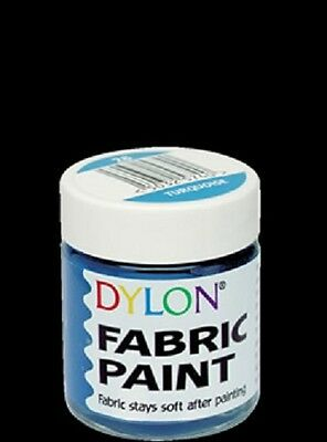 Dylon Soft Fabric Paint 25ml Assorted Colours *REDUCED*