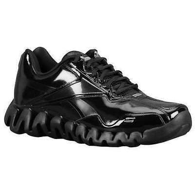 1c4c39fe143d NEW REEBOK ZIG Energy Referee Shoes Patent Black Leather -  89.99 ...