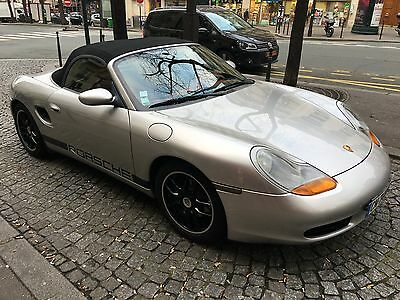 Porsche Boxster - Silver / Red Leather