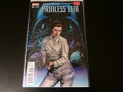 Princess Leia # 1 Guice 1:25 variant NM! Star Wars Marvel comics!
