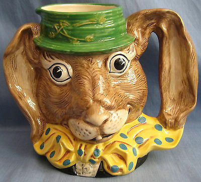 Royal Doulton Jug MARCH HARE D6776 - LARGE SIZE - EX COND