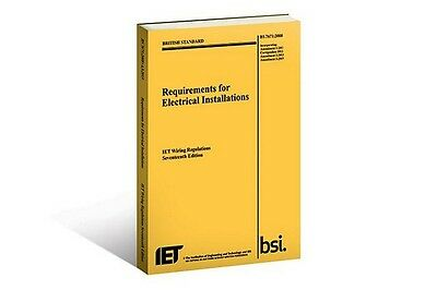 IET Wiring Regulations (BS7671:2008 Incorporating Amendment Number 3:2015)