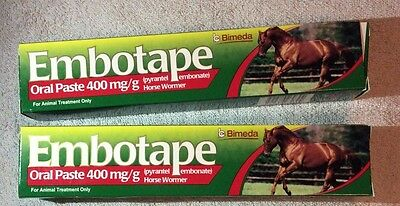 HORSE WORMERS WORMER ORAL PASTE x2