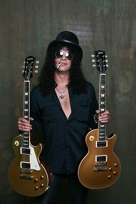 Slash Epiphone Les Paul Classic Gold Top Signature Guitar Rare!