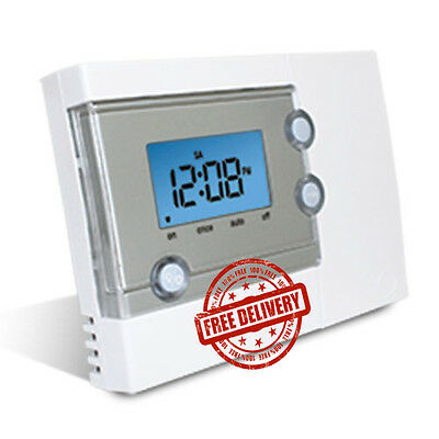 Salus EP101 Single Channel Time-clock / Programmer. Volt Free