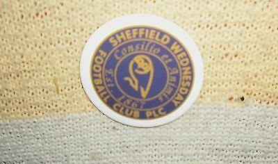 Sheffield Wednesday Plc Football Club Big Pin Badge, England