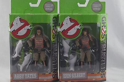 New GHOSTBUSTERS 2016 SET of 2 FIGURES Erin GILBERT & Abby YATES