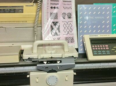 Silver reed/Knitmaster knitting machine package SK 840 + SRP60N ribber + EC1+PE1
