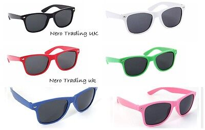 Girls Boys Kids Childrens Sunglasses Shades Wayfarer FULL UV 400 PROTECTION UK