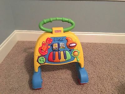 Fisher Price Brilliant Basics Musical Activity Walker - Great Condition!