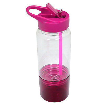 Polar Gear Sip And Snack Bottle 590ml � Berry