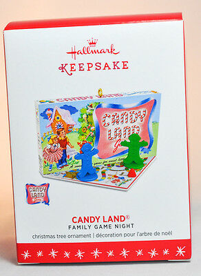Hallmark: Candy Land - Family Game Night - Series 3rd - 2016 Ornament