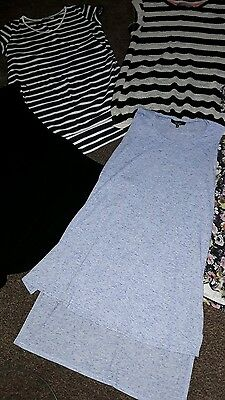 Job lot of maternity clothes tops trousers size 10