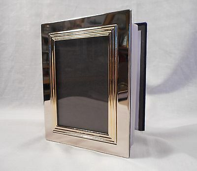 Vintage Silver Plated Picture Cover Photo Album  ( Holds 99 4X6 Prints)
