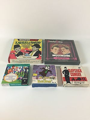 5 x Super 8mm Films Laurel & Hardy Cinderella - Untested