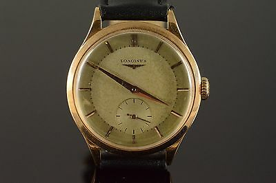 36mm Longines Hour Second Automatic Heavy Men's Watch