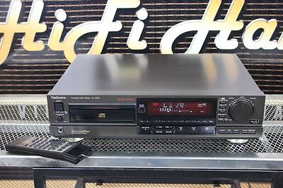 Vintage TECHNICS SL-P555 CD PLAYER 'Toggle' control With remote