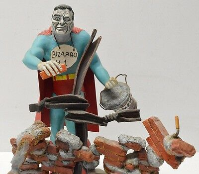 Aurora Style BIZARRO Custom one of a kind Statue Model Kit Superman Built Up