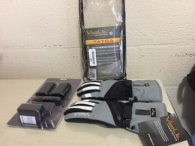 Ladies 7.4 Volt Rechargeable Heated Gloves Size Small