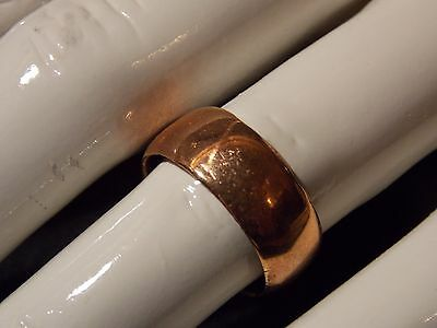 Vintage Penny wedding ring made from a 1948 penny size n1/2