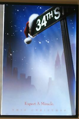 Miracle on 34th Street Movie Poster 1994 USA One Sheet, Original