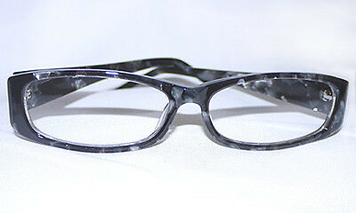 New Aj Morgan Optical Quality Grey Marble Readers Reading Glasses +1.50