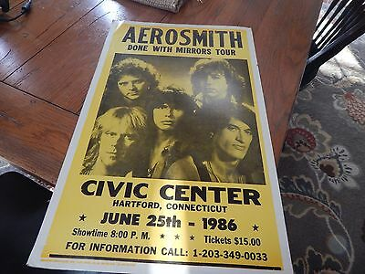 Aerosmith Done With Mirrors Tour Poster (Replica)