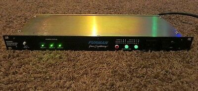 FURMAN PS-8R POWER CONDITIONER / SEQUENCER RACKMOUNT 120v NICE