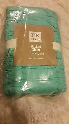 Pottery Barn Teen Ruched  Sham Euro Pool