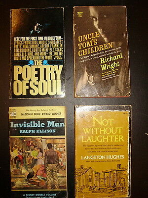 Lot of 4 African American Paperbacks...Richard Wright