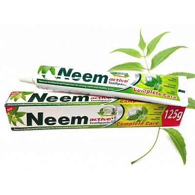 Neem Active Toothpaste 125g ~ 100% vegetarian ~ Spearmint flavour
