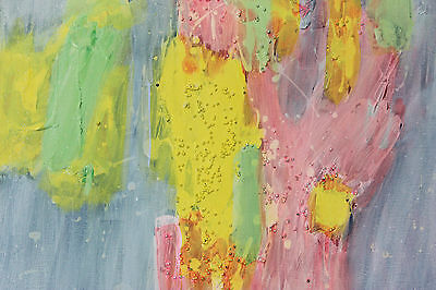 Pastel colours Abstract painting on Canvas Original Artwork