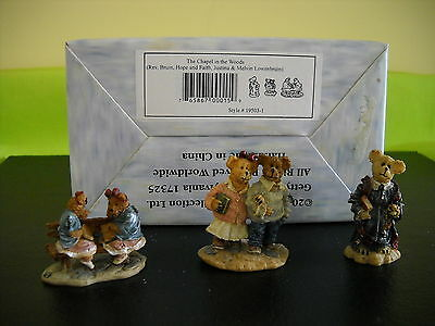 **boyds**village Accessory**the Chapel In The Woods**style #19503-1**w/box**