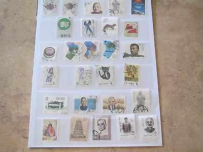 CHINA STAMPS PRC three scans of stamps