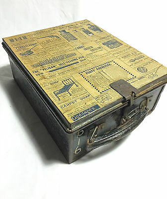 Bus Conductors Machine Box /  From The 1960's /70s Vintage Metal Tin